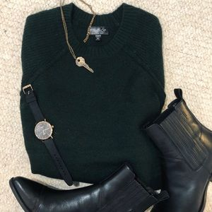Hunter Green Sweater